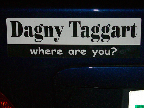 Dagny Taggart where are you?